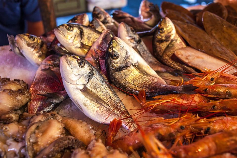 pesce, mercato del pesce di Catania