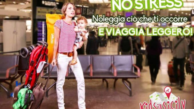 noleggio attrezzature per bambini in Sicilia
