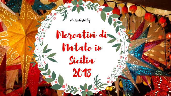 mercatini di Natale in Sicilia