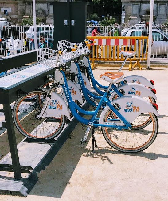 bici che si possono noleggiare a Palermo anche con i bambini