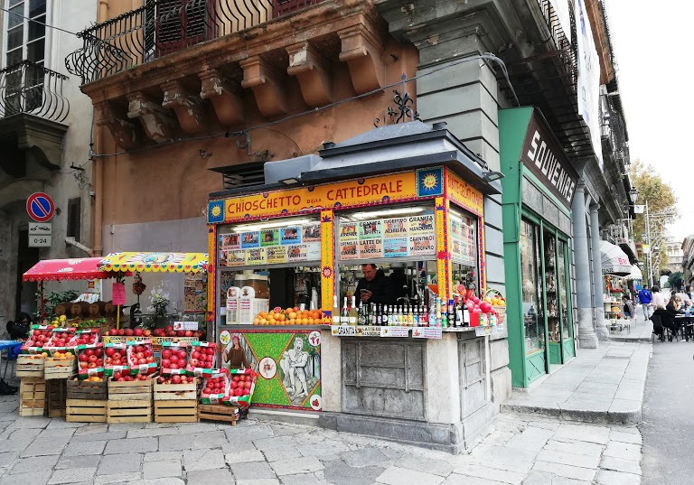 chiosco della Cattedrale di Palermo