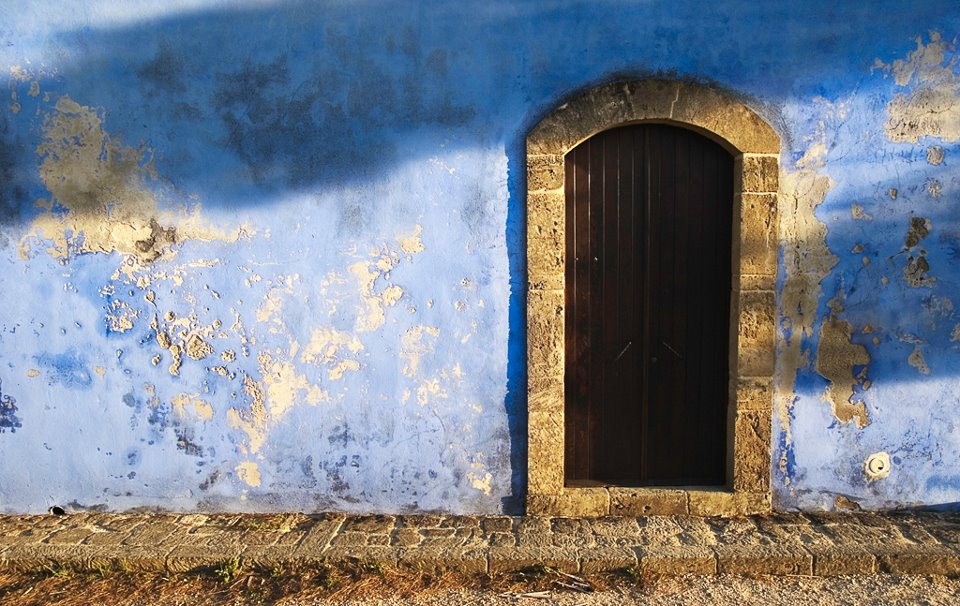 particolare di una porta presso la riserva naturale di vendicari