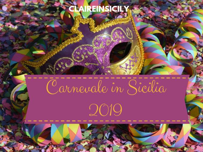 maschera di carnevale di Sicilia