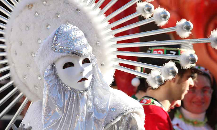 maschera di carnevale in sicilia
