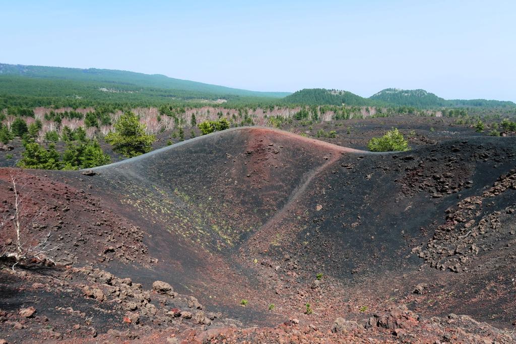 cratere sartorius sull'Etna