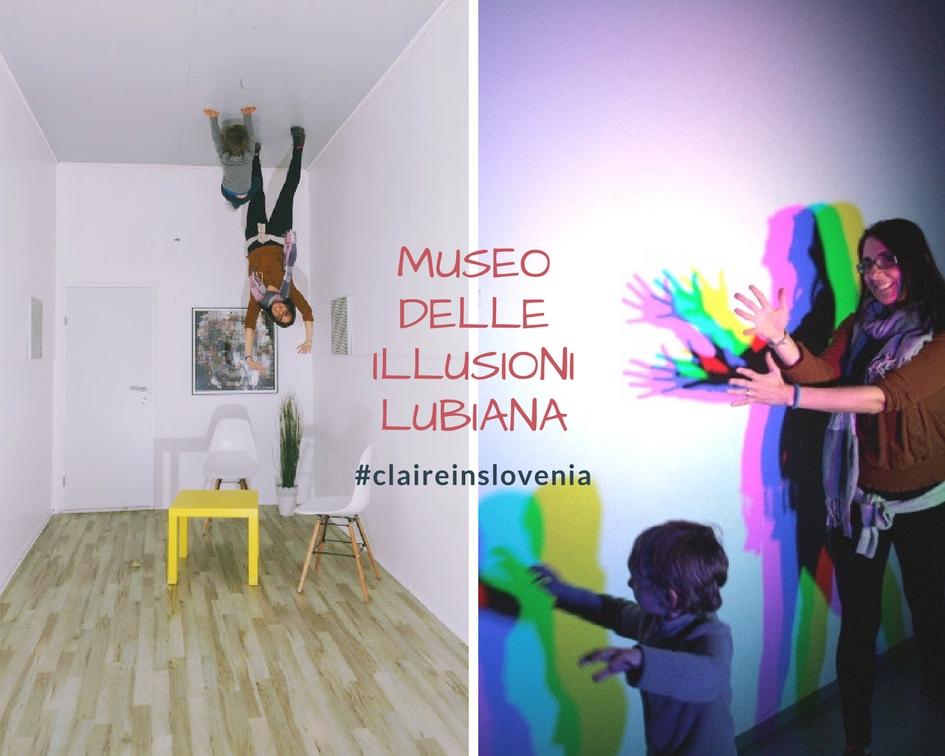 Il Museo delle Illusioni di Lubiana: divertimento per tutte le età!
