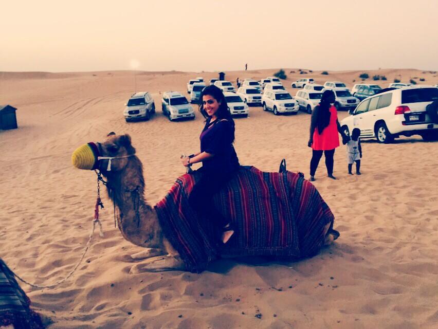 assistente di volo Emirates a Dubai