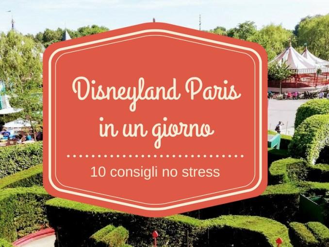visitare disneyland paris in un giorno immagine di copertina