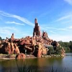 il treno della miniera a Disneyland Paris