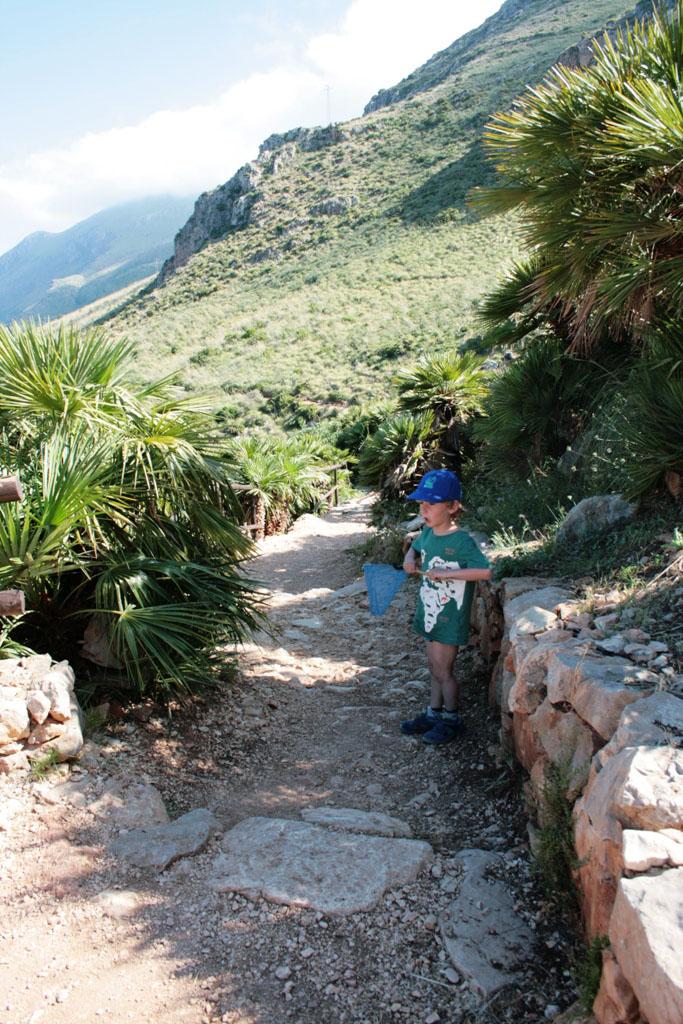 visitare la riserva dello zingaro con i bambini-natura