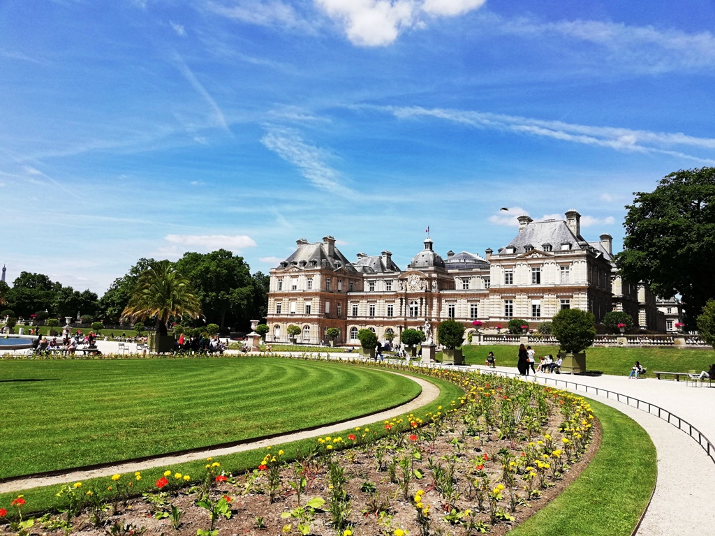 giardini di lussemburgo a Parigi
