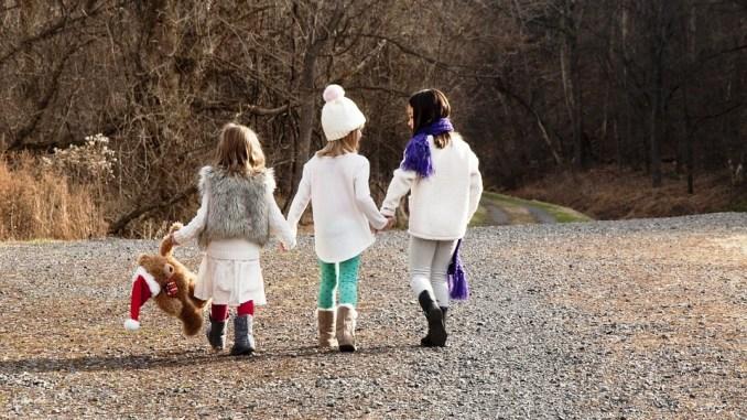 Ponte dell'Immacolata con bambini immagine di copertina