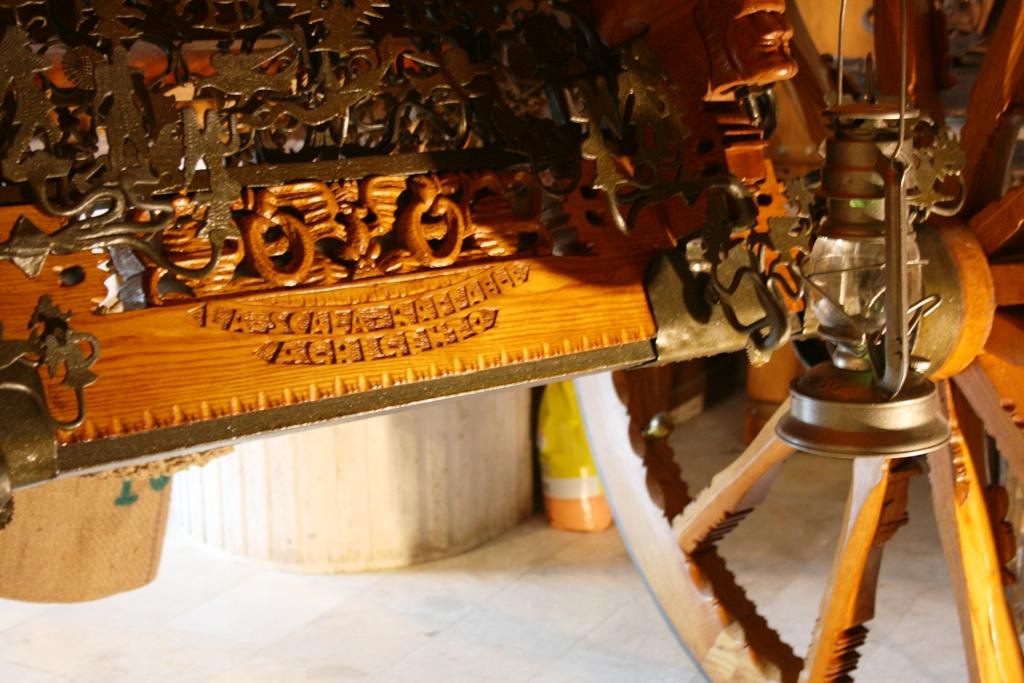 dettagli di un carretto siciliano