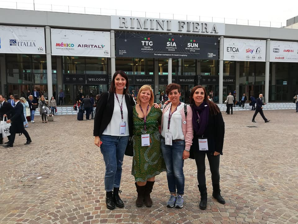 travel bloggers al TTG di Rimini