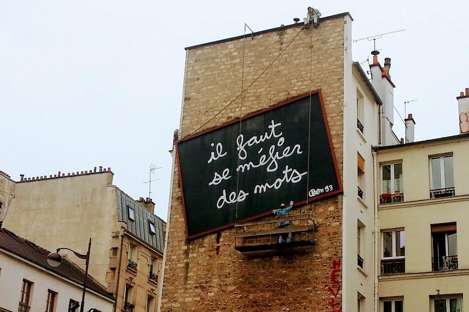quartiere di Belleville a Parigi
