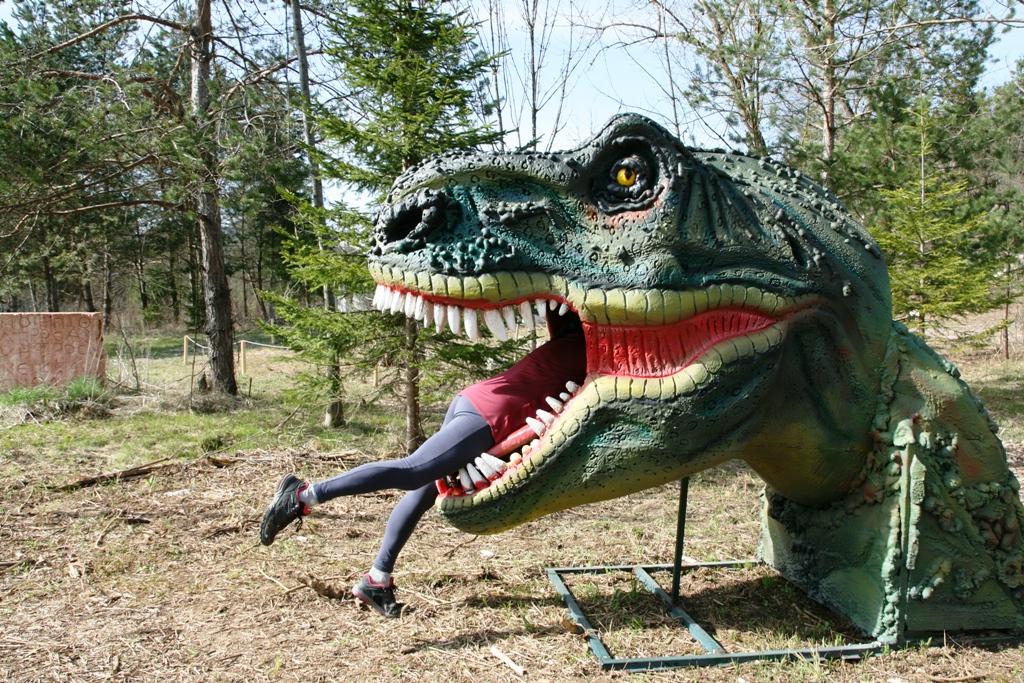 dino parl di bled con dinosauri