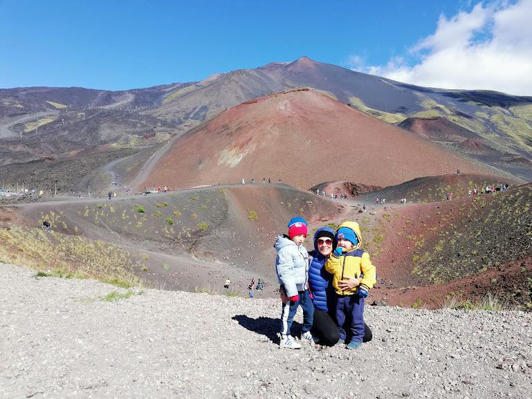 Un itinerario in Sicilia Orientale con i bambini sull'Etna