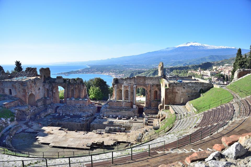 itinerario sicilia orientale con bambini-taormina