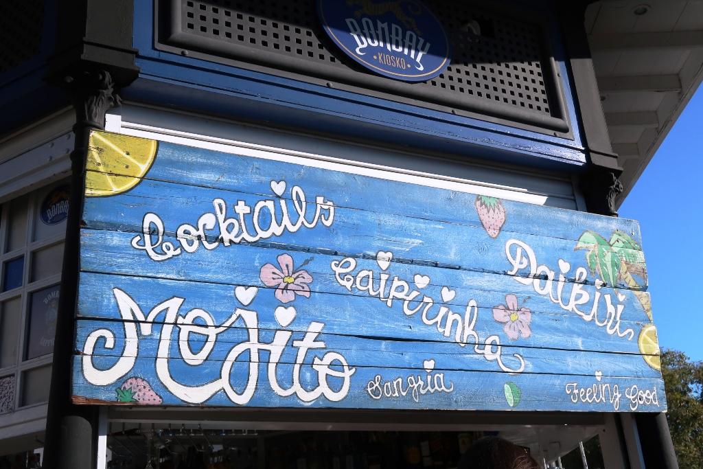 insegna chiosco di Siviglia
