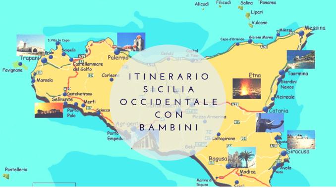 3546e97583 Itinerario Sicilia Occidentale con bambini: consigli utili per organizzare  il viaggio