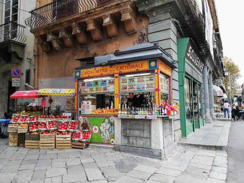chiosco di bibite a Palermo