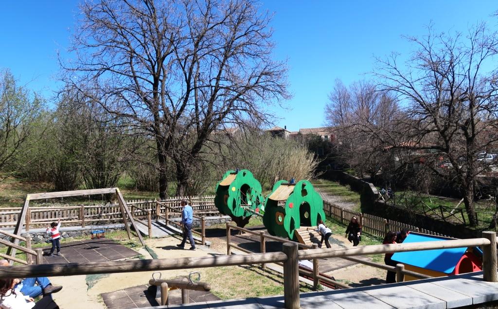 parco giochi a Sant'Alfio