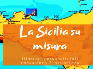 mappa per organizzare un viaggio in Sicilia