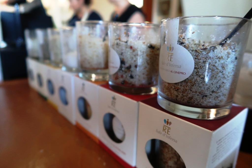 degustazione di sale alle saline di Marsala