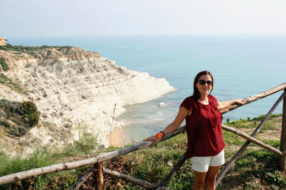 una donna in Sicilia