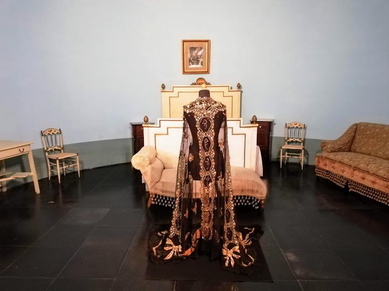 camera principessa di Navarra al Castello di Donna Fugata