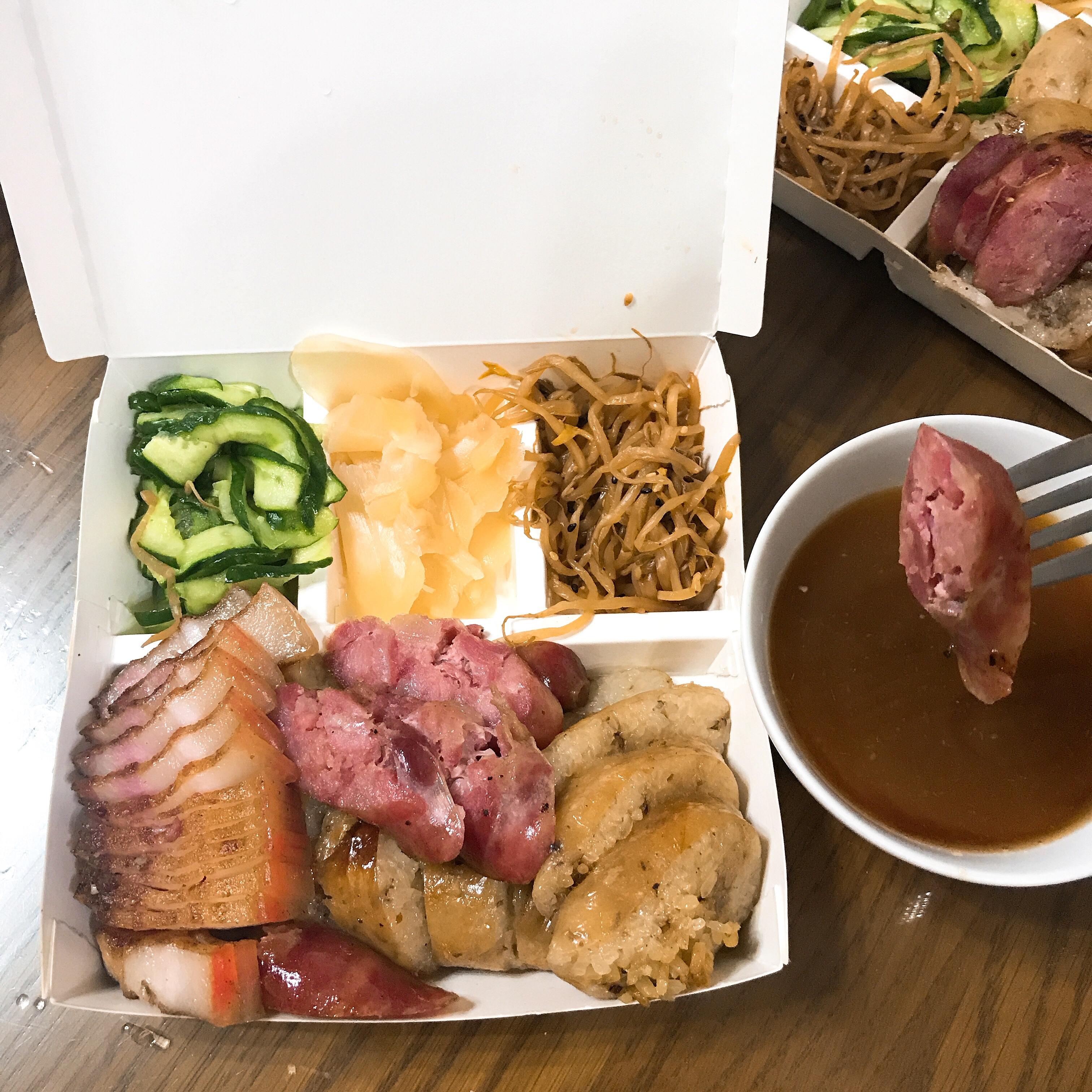 臺中美食/胖子修花生大腸 – 克萊兒