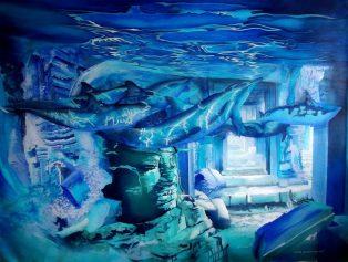 Toile bleue - Claire Laurent