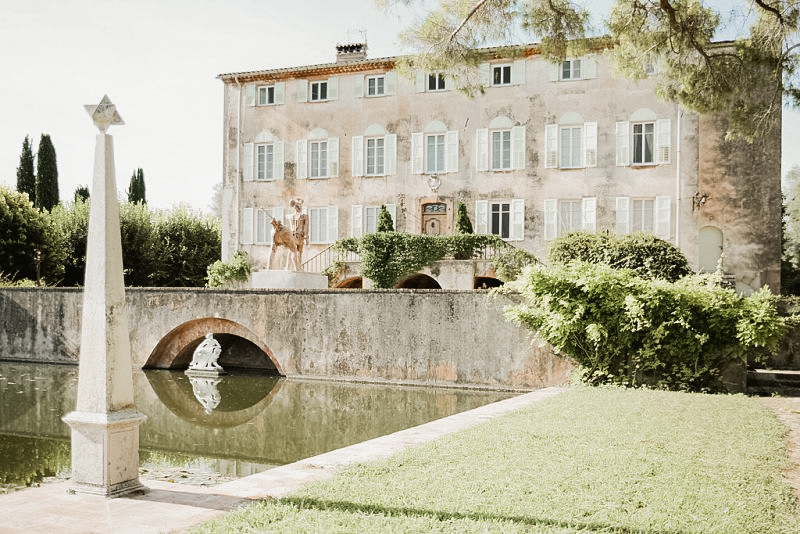 La Bastide du Roy wedding venue in France
