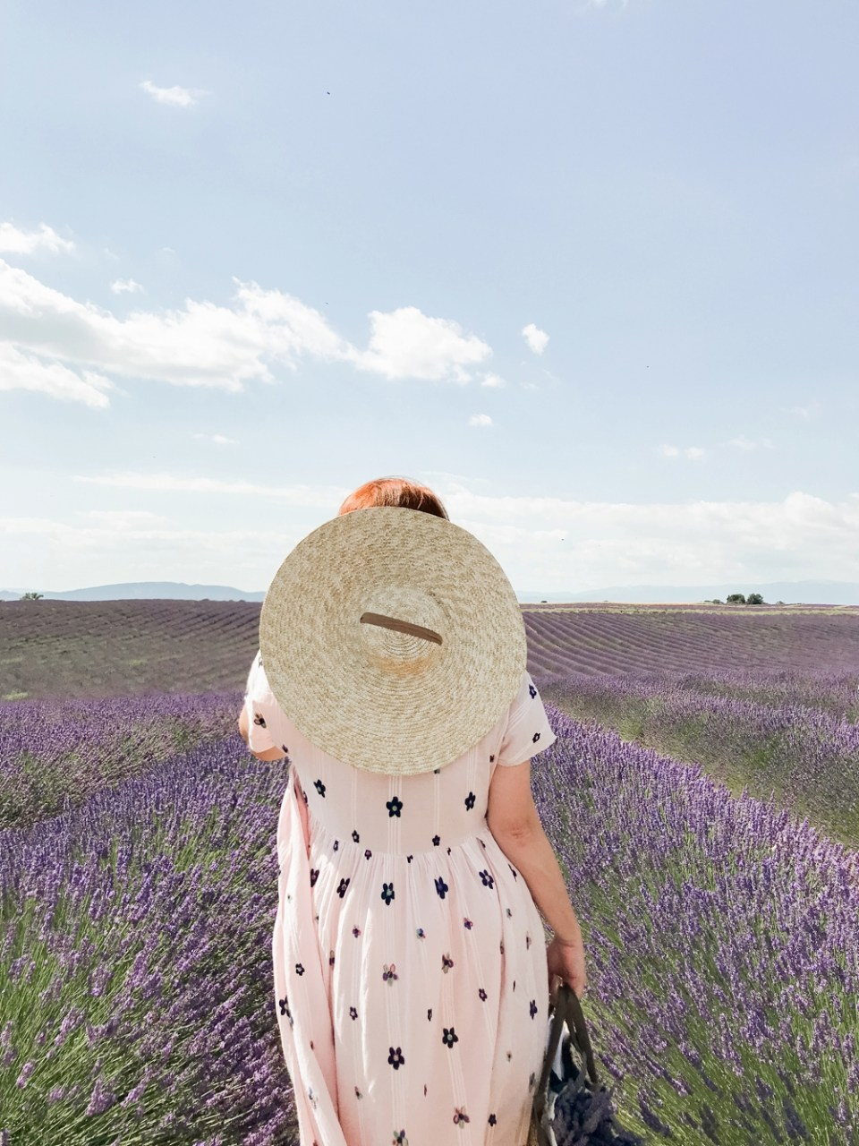 Commercial Photographer Brand Shoot Lavender Fields Provence