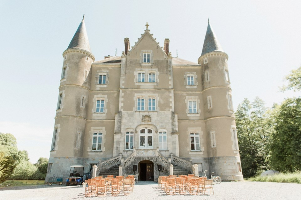 Wedding at Chateau de la Motte Husson