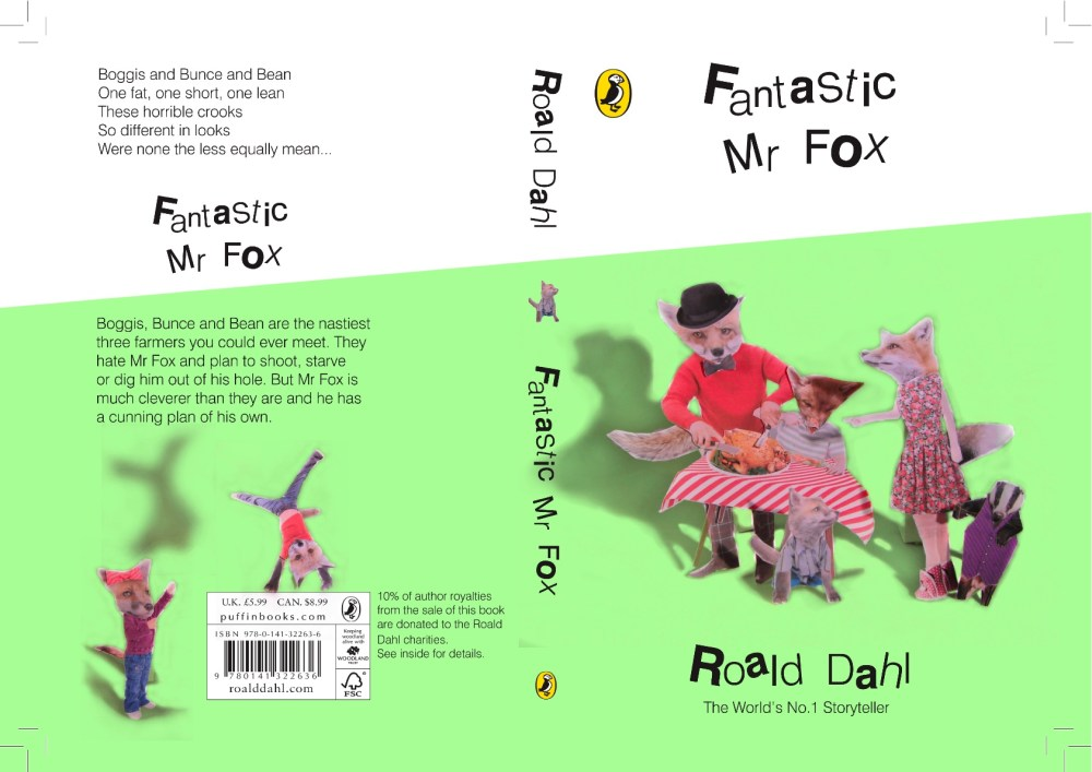 Roald Dahl Book Covers (4/4)