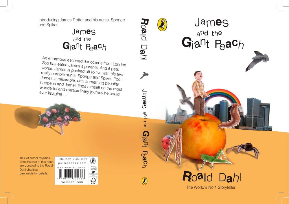 Roald Dahl Book Covers (1/4)