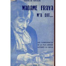 cov livre madame fraya