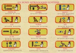 calendrier astro egypte