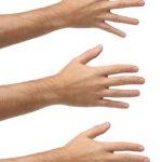 Chiromancie : l'écartement des doigts