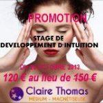 PROMOTION : STAGE DE DÉVELOPPEMENT D'INTUITIONS
