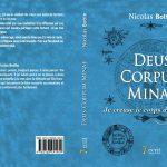 Gagnez le livre de Nicolas Bottin –  Deus Corpum Minae, je creuse le corps de l'univers