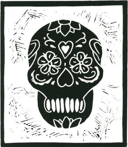 Skull # black