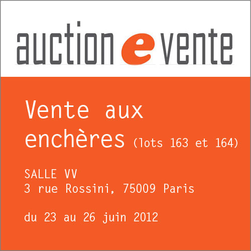 Vente Auction juin 2012