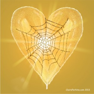 """""""Web of Love"""" created by Claire Perkins, aka ArtfulAlchemist on Polyvore.com"""