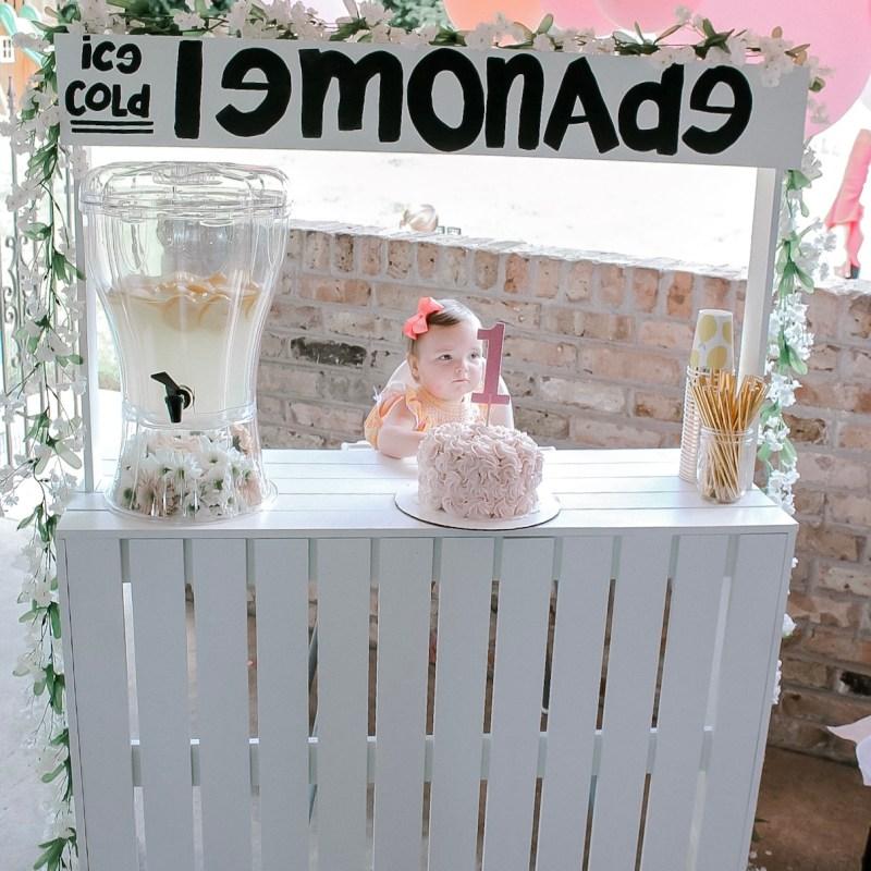 Amelia's Lemonade Stand Party