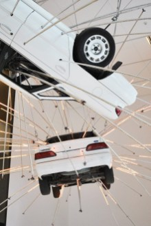 seattle etats unis exposition voiture Cai Guo-Qiang