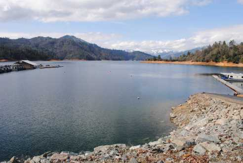 shasta lake etats unis