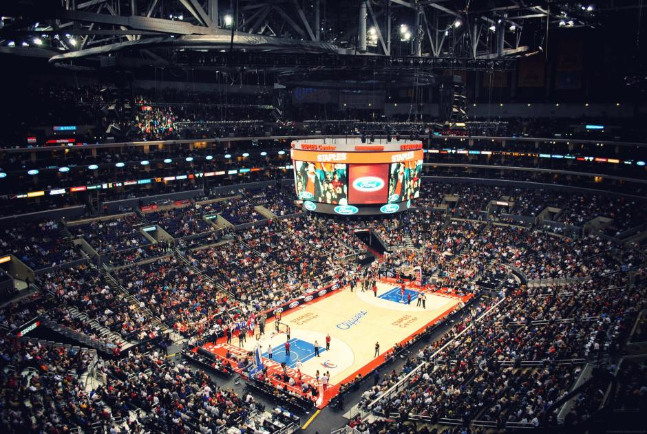 staples center basket ball los angeles usa (3)