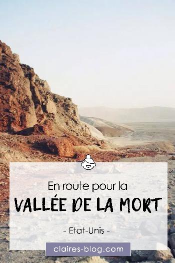 En route pour la Vallée de la Mort - Etats-Unis - USA